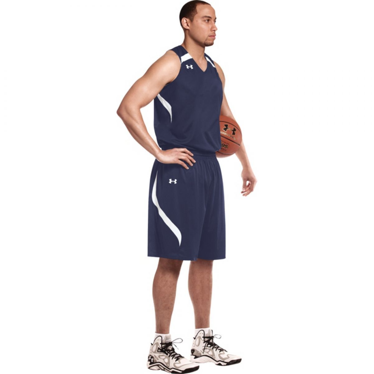 Under Armour Youth Drop Step Reversible Basketball Short