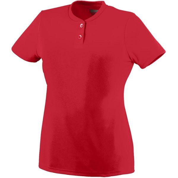 Augusta Women's Wicking Two-Button Jersey