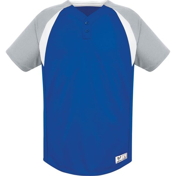 High Five Youth Gravity Two-Button Baseball Jersey