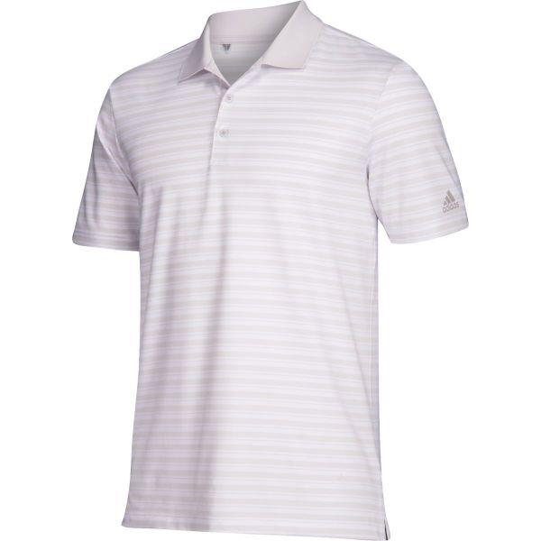 Adidas Mens Ultimate 3 Stripe Polo