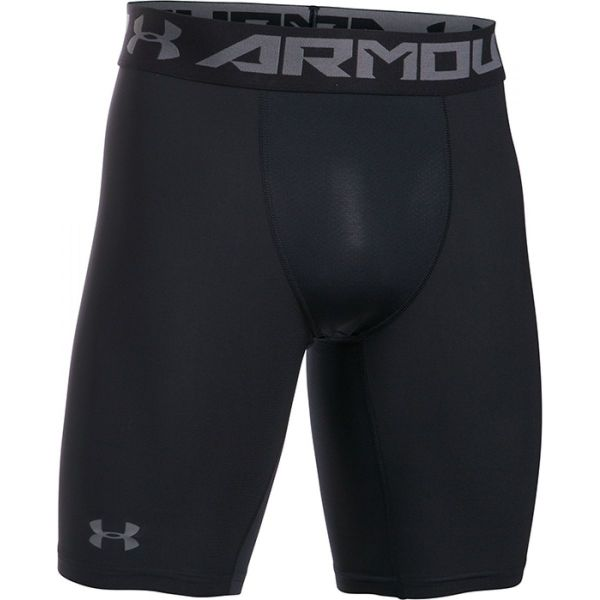 Under Armour Mens HeatGear Armour 2.0 Long Compression Short