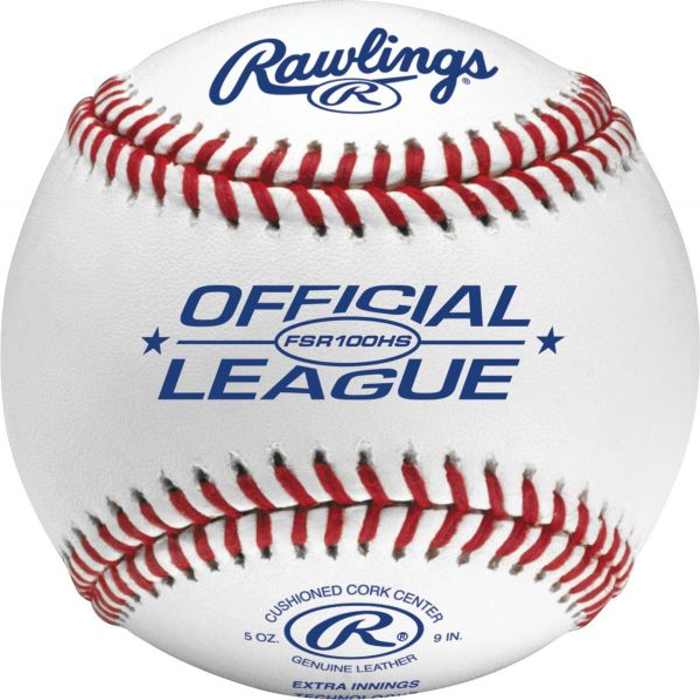 Rawlings FSR100HS Flat Seam High School Baseball (Dozen)