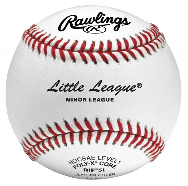 Rawlings RIF5 Level 1 Little League Baseball (Dozen)