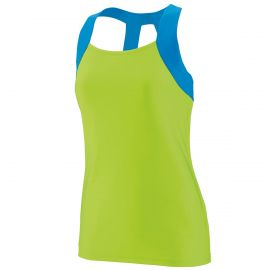 Augusta Youth Girl's Lacrosse Jazzy Open Back Tank