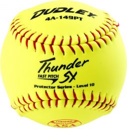 "Dudley 12"" Thunder SY Protector Level 10 Fastpitch Softball"