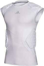 Adidas Men's AlphaSkin Force 5 Pad Sleeveless Shirt