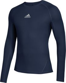 Adidas Men's Alphaskin Long Sleeve Compression Shirt