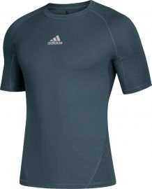 Adidas Men's Alphaskin Short Sleeve Compression Shirt