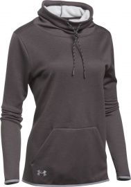 Under Armour Womens Novelty Armour Fleece Funnel Neck Hoodie