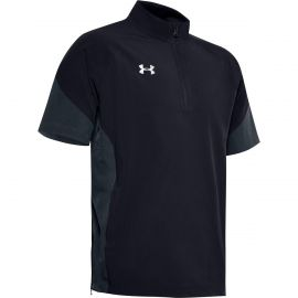 Under Armour Boys Squad Short Sleeve 1/4 Zip Pullover