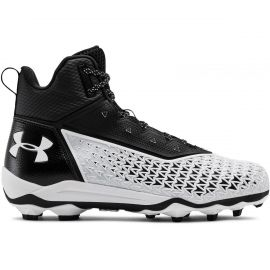 Under Armour Team Hammer Mid Molded Football Cleats (Wide)