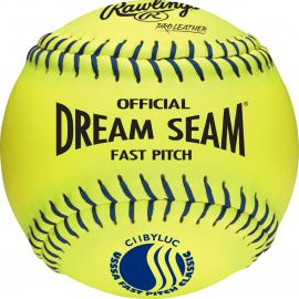 """Rawlings Pro Leather Official USSSA 11"""" Fastpitch Softball"""