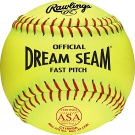"Rawlings 11"" ASA Pro Tac Dream Seam Fastpitch Softball (DZ)"