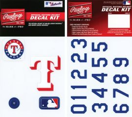 Rawlings MLB® Authentic Decal Kit
