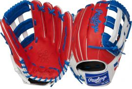 """Rawlings HOH Dominican Republic Special Edition 12.75"""" Baseball Glove-PRO30396DR"""