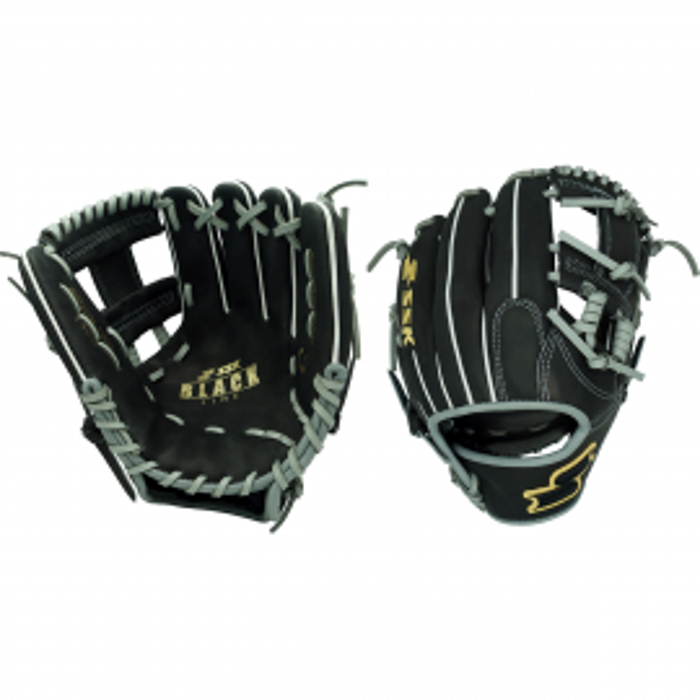 "SSK Black Line Series Spiral I-Web 11.5"" Baseball Glove"