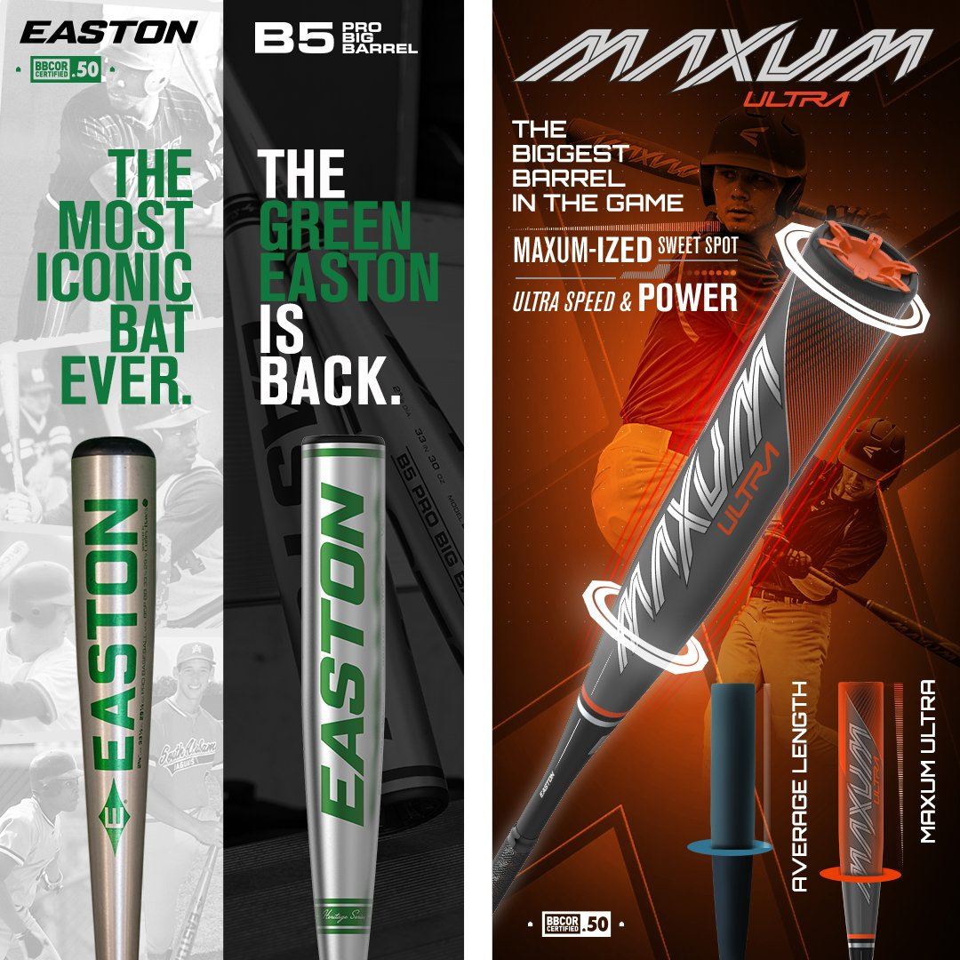 Shop New 2021 Bats From Easton