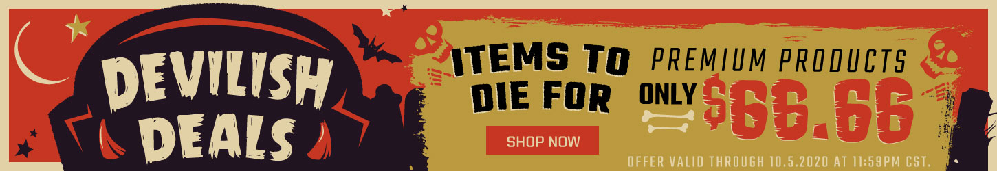 Devilish Deals - Items To Die For