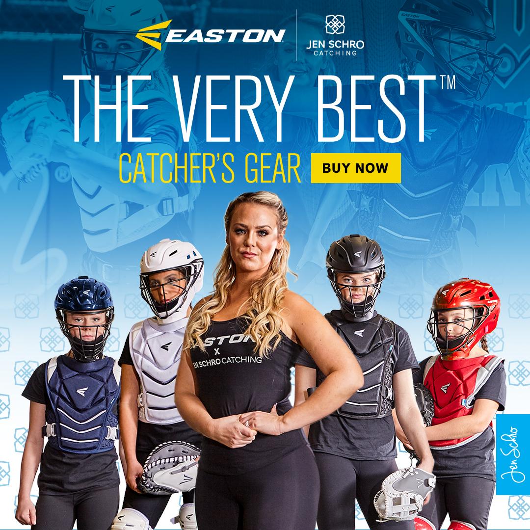Jen Schro The Very Best Catcher's Gear