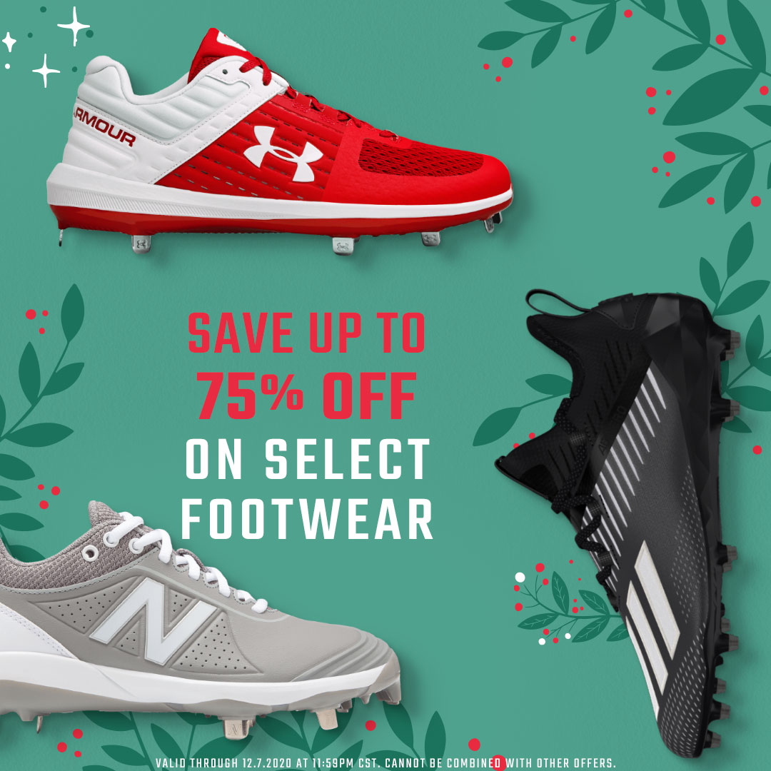 Up To 75% Off Select Footwear